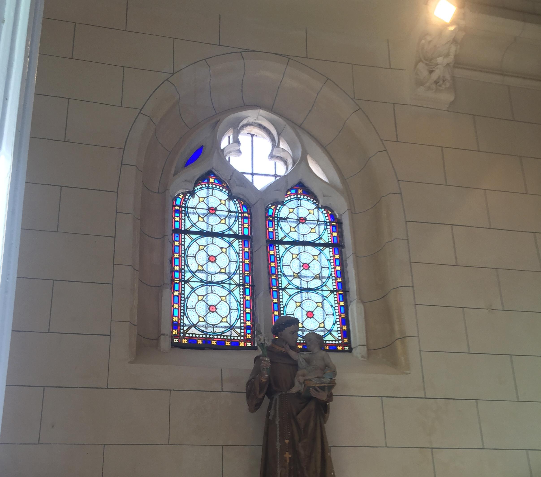 Restauration illaé®: lignage à l'église de Nivillers